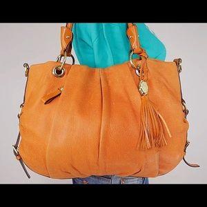 Vince Camuto Large Leather Hobo Bag